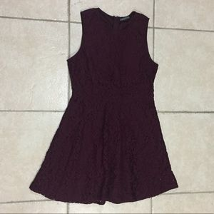 NWOT Brixon Ivy Burgundy Lace Cocktail Dress